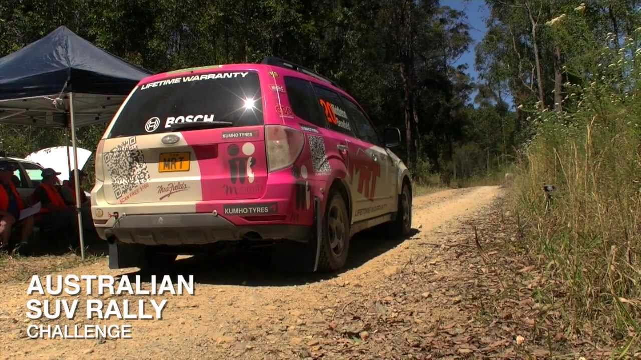 Subaru Forester Turbo Diesel Rally Car Australian Rally