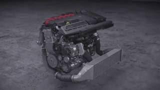 Le moteur Audi 5 cylindres en ligne 2.5L TFSI Turbo