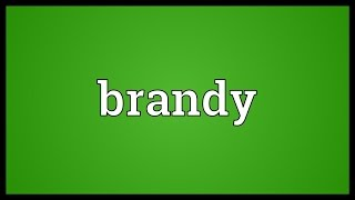 Brandy Meaning