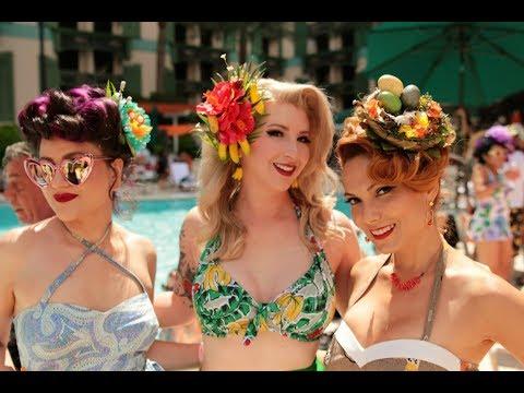Viva Las Vegas Tiki Pool Party FULL 2019 Video Rockabilly Weekend Surf Bands