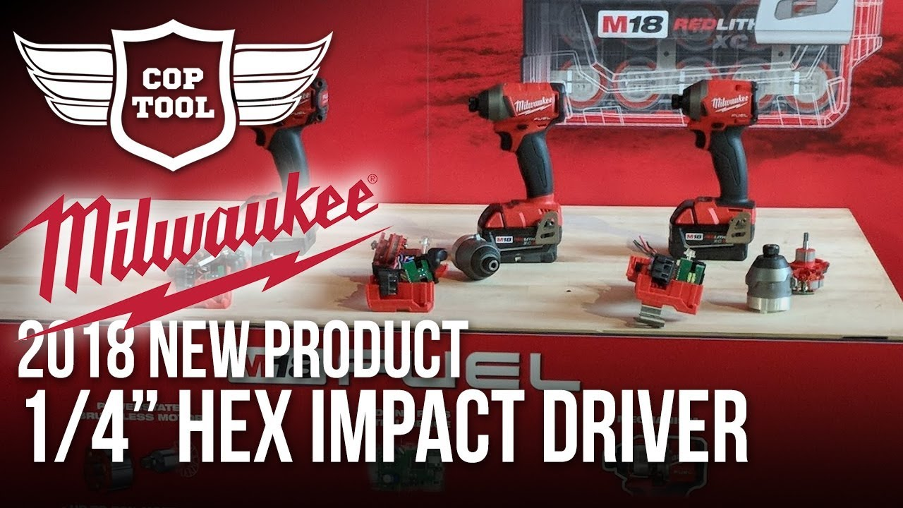 M18 Fuel 1//4IN Hex Impact Driver XC Kit MLW 2853-22 Milwaukee