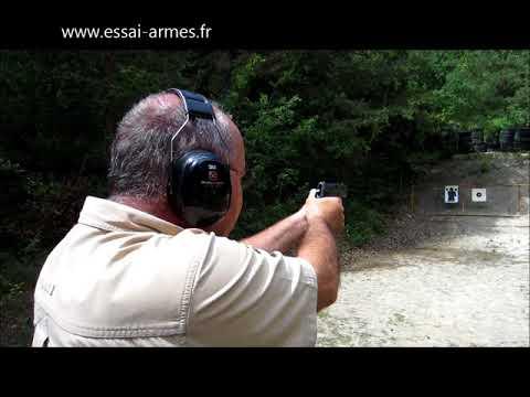 Pistolet arex REX 765 S en calibre 7,65 mm Browning - 1ère partie