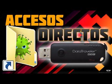 Tutorial - Elimina Virus En USB ( Accesos Directos )