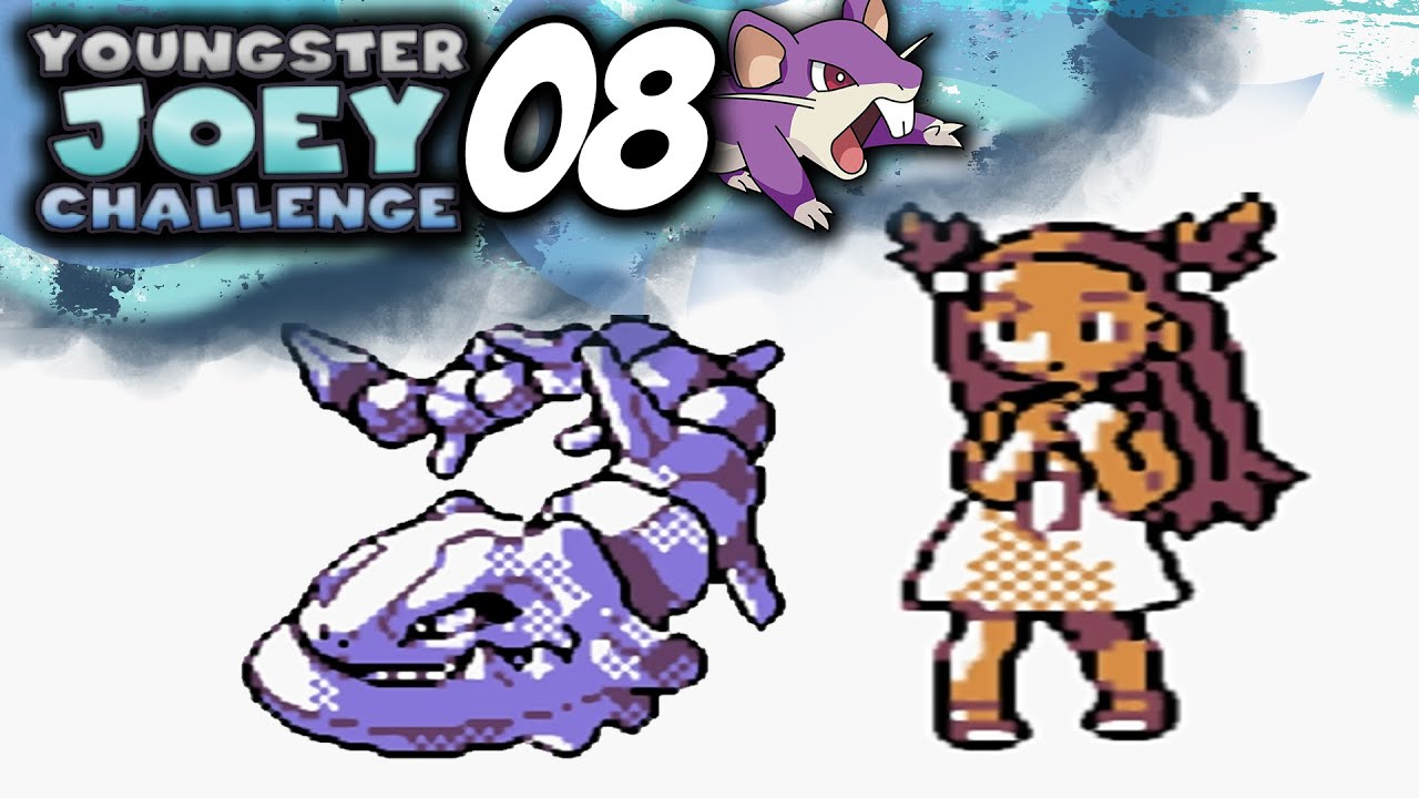 Pokemon Crystal [Youngster Joey Challenge] - Episode 8 ... Youngster Joey Challenge