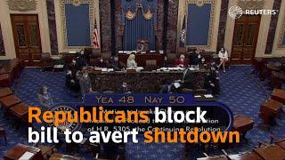 U.S. Senate fails to suspend federal debt ceiling