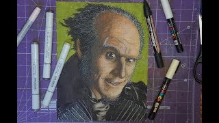 Count Olaf - Marker Art