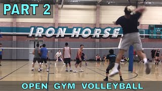 Volleyball at Iron Horse PART 2 - 7/5/18