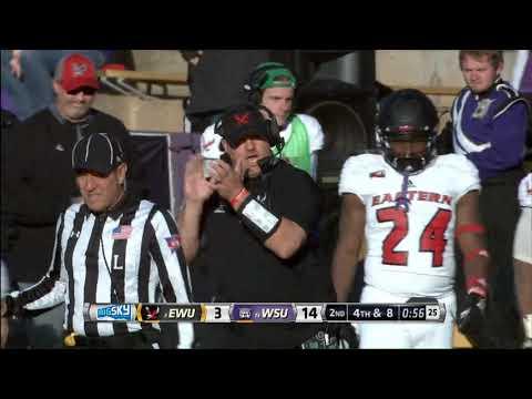 EWU Football Highlights at Weber State (10/13/18)