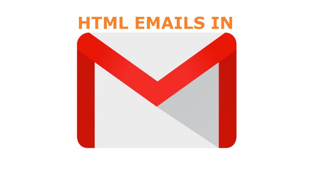 how to make html email in gmail