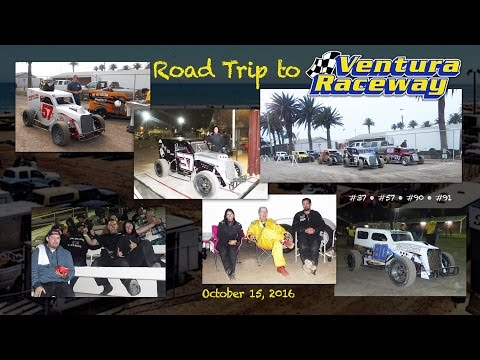 Road Trip to Ventura Raceway • Dwarf Cars Main 10-15-2016