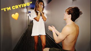 SURPRISING MY CRUSH WITH...