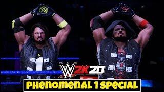 WWE 2K20 'PHENOMENAL1' Theme Gameplay | FAIL GAME LIVE 2K20 THEME GAMEPLAY !