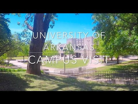 University of Arkansas Campus Tour & Visit (WALKING TOUR)