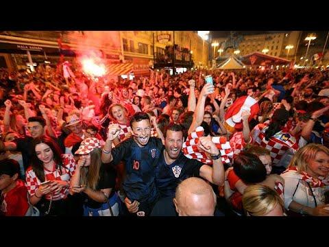 Mundial2018: Croatas em festa de Sochi a Zagreb