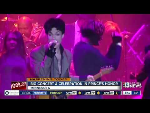 Prince tribute scheduled in Minnesota
