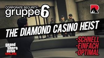 Casino Heist - schnell und einfach mit Gruppe 6 - GTA V