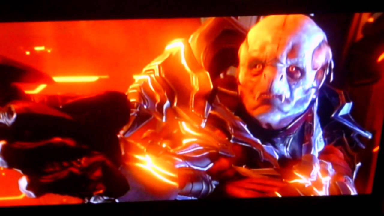 Halo 4 Final Boss The Didact vs The Chief - YouTube