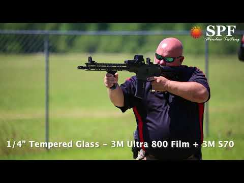 SPF Window Tinting - 3M Safety and Security Window Films - School Safety