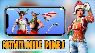 FORTNITE MOBILE IPHONE X iOS/682-WINS MI NUEVA SKIN
