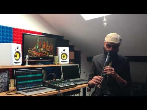Akai Ewi 5000 Sound Demo  (Cretu Catalin Jazz)