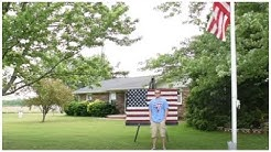 Teen Takes Photo In Front Of The Flag And Posts It Online.But People Are Shocked When They Zoom In!