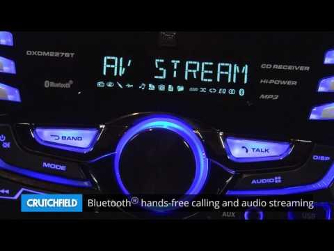Dual DXDM227BT Display And Controls Demo | Crutchfield Video