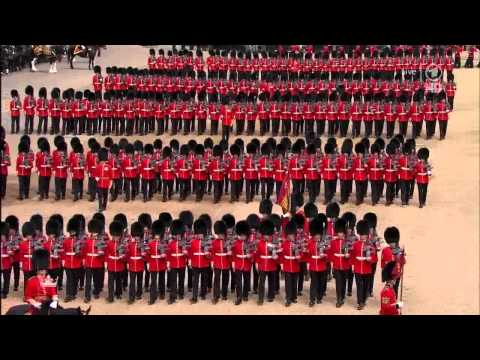 Trooping the Colour 2014 (German)