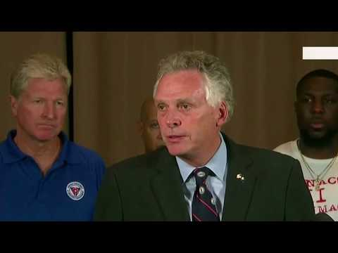 Terry McAuliffe Press Conference on Charlottesville [POWERFUL MESSAGE] 8/12/2017