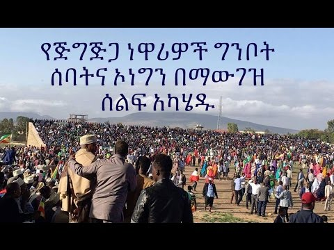 Ethiopia - Residence in Jijiga City Demonstration Against Ginbot 7 & OLF