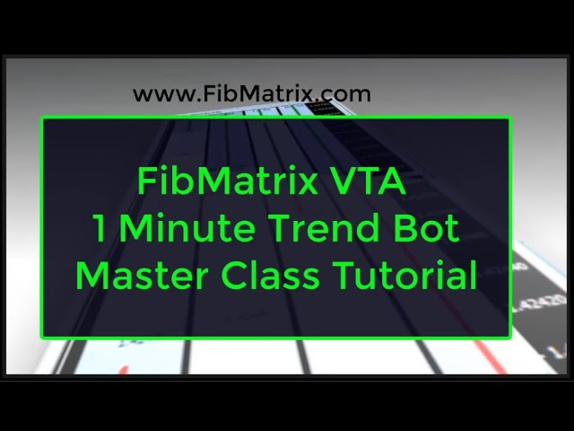 Trend Bot Tutorial Master Class FibMatrix Fully Automated Forex Trading Software