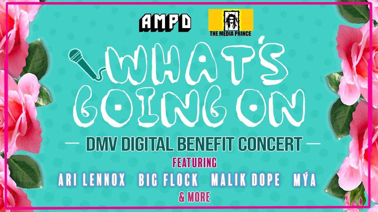 What's Going On: DMV Digital Benefit Concert