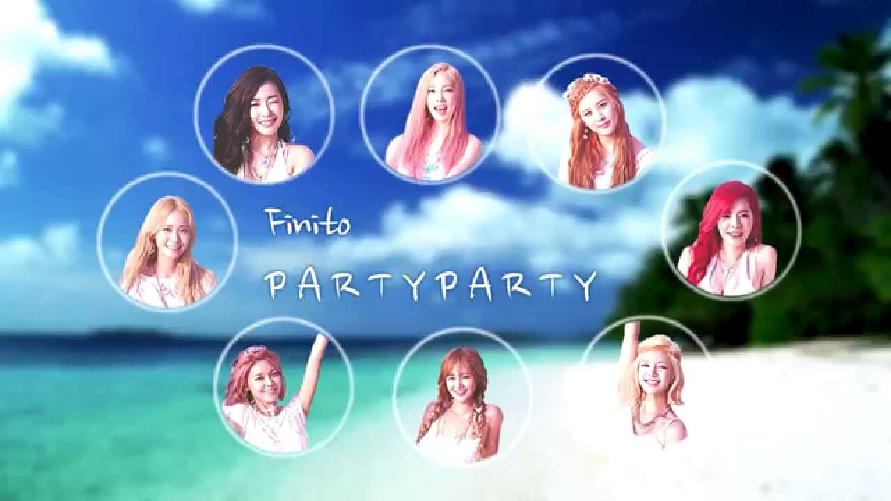 Check out SNSD's official pictures from their 'Party' at M ...