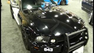 Transformers Mustang Barricade San Diego International Auto Show 1-3-2015