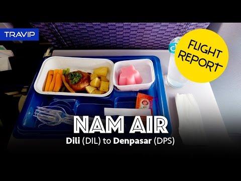 NAM Air Flight Report: Dili (Timor Leste) to Denpasar (Bali)