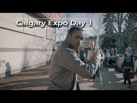 The 2018 Calgary Comic and Entertainment Expo Begins (4K) | Journey Alberta