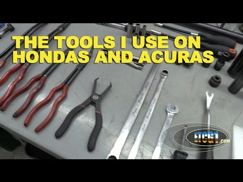 The Tools I Use On Hondas and Acuras -ETCG1