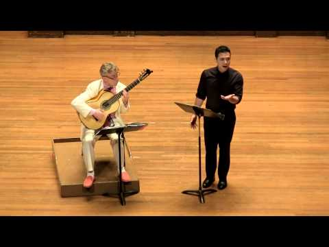 4 French Folk Songs- Eliot Fisk and Nicholas Phan