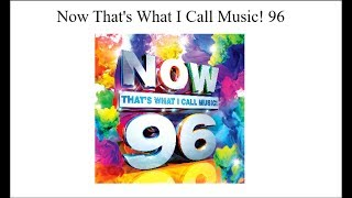 Now Thats What I Call Music 96 | Now 96 | Tracklist