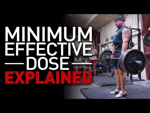 Why Minimum Effective Dose of Complexity?