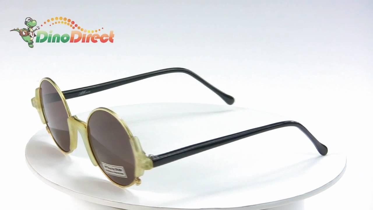 3714fa3ce244 Classic Retro Anti-UV Round Sunglasses LEON from Dinodirect.com - YouTube