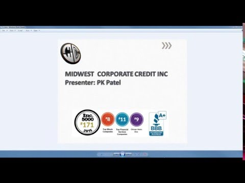 Midwest Corporate Credit : Case Study: $75K to $100K in unsecured business credit approval.