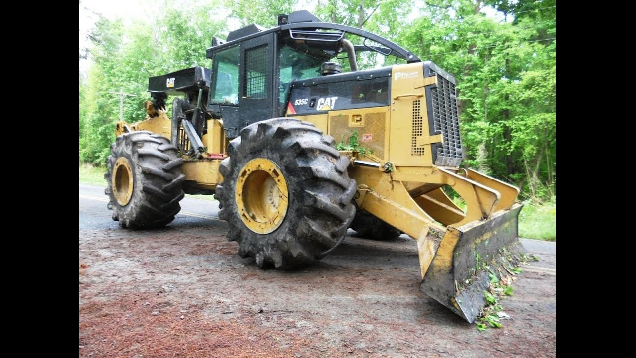 2012 CAT 535C Grapple Skidder with 2300 Hours at Forestry First