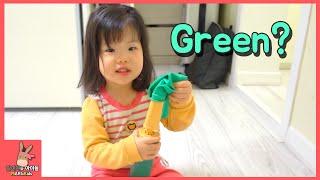 영어 발음은 어려워 유니의 귀여운 영어 학습 어린이 일상 놀이 english pronunciation is difficult vlog   말이야와아이들 mariandkids