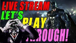 """Batman Arkham Knight"" WALKTHROUGH Gameplay Part 6! Live Stream In Depth Let's Play! Xbox One!"