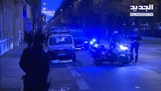 لحظة وصول الحريري إلى مطارباريس- فيديو