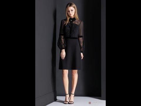 Платье: фирмы Nova Line. Номер модели: 5945 черный