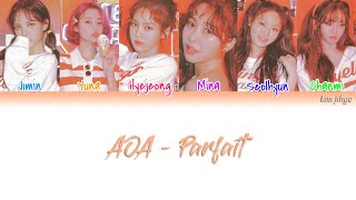 AOA (에이오에이) – Parfait (파르페) Lyrics (Han|Rom|Eng|COLOR CODED)