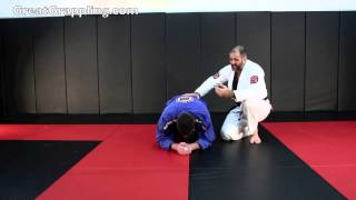A fun choke from the Turtle Position. I learned this as a blue belt...
