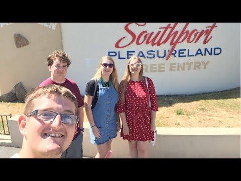 Southport Pleasureland Vlog June 2018