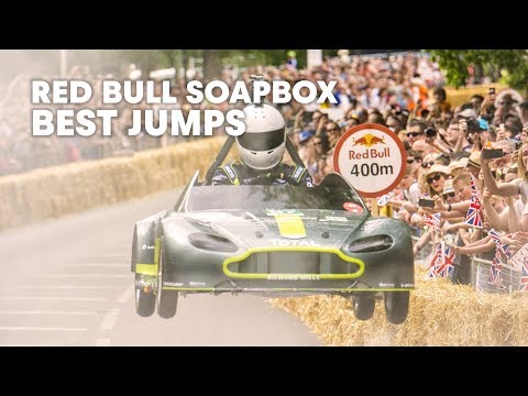 Best Jumps from Red Bull Soapbox Race Netherlands 2015